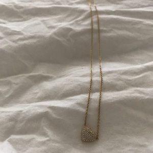 Michael Kors Gold Heart Necklace